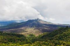 Una vista del soporte Batur en Bali a partir de 2016 Fotos de archivo