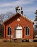 Una vista delantera de la escuela del sitio Foto de archivo libre de regalías