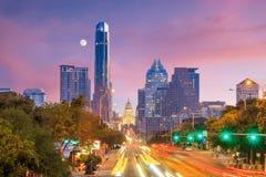 Una vista dell'orizzonte Austin fotografia stock