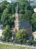 Una vista della chiesa di Cristo Fotografia Stock