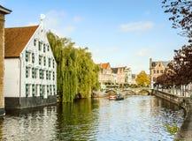 Una vista della città belga, Lier Fotografia Stock