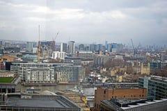 Una vista della città di Londra Inghilterra fotografie stock