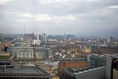 Una vista della città di Londra Inghilterra immagini stock libere da diritti