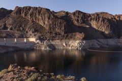 Acqua bassa al Lago Mead, Nevada. Fotografia Stock Libera da Diritti