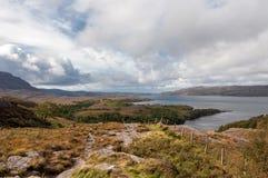 Una vista della Scozia Fotografia Stock