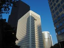 Una vista della strada edificio di Murray e di tre giardini, centrale fotografia stock libera da diritti