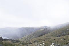 Una vista delle montagne nel distretto del lago, Inghilterra Fotografie Stock Libere da Diritti