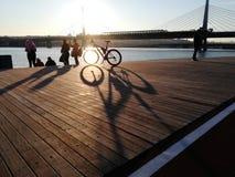 Una vista di bayestuary di Istabul immagini stock libere da diritti