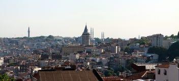 Una vista di Costantinopoli. Fotografia Stock Libera da Diritti