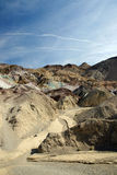 Una vista di Death Valley Fotografia Stock Libera da Diritti