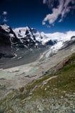 Una vista di Grossglockner, alta strada alpina di Grossglockner, Austria Fotografie Stock