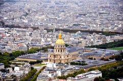 Una vista di Parigi Fotografia Stock Libera da Diritti