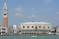 Una vista di San Marco - Venezia - l'Italia Fotografie Stock