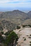 Una vista di vasto paesaggio scenico delle montagne dell'Arizona Immagini Stock