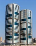 Una vista general de Sharja UAE foto de archivo libre de regalías
