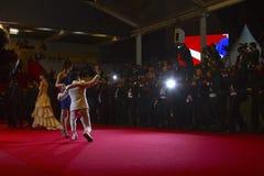 Una vista generale dei festival del DES di Palais dell'atmosfera Fotografia Stock Libera da Diritti