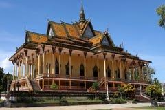 Una vista generale di una pagoda di 100 colonne Fotografia Stock Libera da Diritti