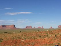Una vista hermosa del valle del monumento Imagen de archivo libre de regalías