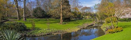 Una vista in Hyde Park a Londra Immagine Stock
