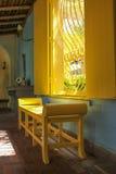 Una vista interior de la casa de Bonnett en Fort Lauderdale Imagen de archivo libre de regalías