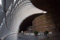 Una vista interior del centro nacional de China para las artes interpretativas Imagen de archivo