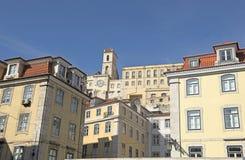 Una vista a Lisboa Foto de archivo libre de regalías