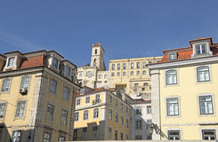 Una vista a Lisbona Fotografia Stock Libera da Diritti