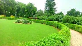 Una vista maestosa del giardino fotografia stock
