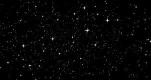 Una vista nella galassia con le stelle commoventi royalty illustrazione gratis