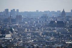 Una vista panoramica su Parigi, Francia Fotografia Stock