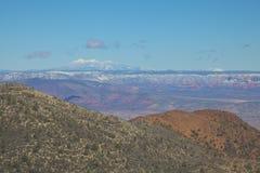 Vista della valle di Verde Fotografia Stock