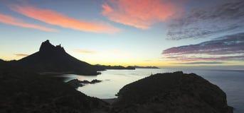 Una vista scenica dall'allerta di Mirador, San Carlo, sonora, Messico Immagini Stock