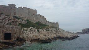 Una vista a si castillo Fotografía de archivo