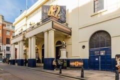 Una vista tipica in Covent Garden fotografia stock libera da diritti
