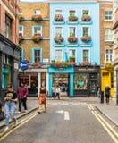 Una vista tipica a Londra fotografia stock