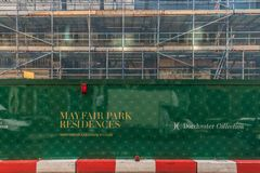 Una vista tipica a Londra fotografia stock libera da diritti