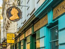 Una vista tipica a Londra immagine stock