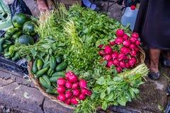 Una vista tipica in San Salvador in El Salvador immagini stock