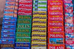 Una vista tipica a Varsavia in Polonia fotografie stock