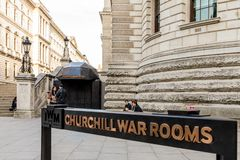Una vista a Westminster a Londra fotografia stock libera da diritti