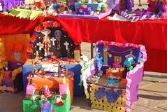 Una visualización de Día de los Muertos Fotografía de archivo libre de regalías