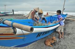 Una vita della spiaggia Immagini Stock Libere da Diritti