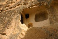 Una vivienda de cueva Imagen de archivo libre de regalías