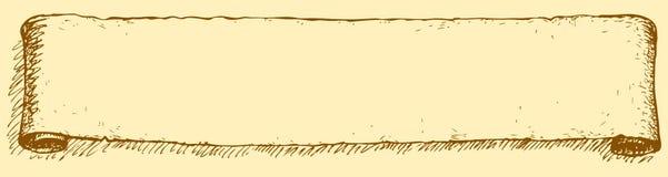 Una voluta larga Gráfico del vector Imagen de archivo libre de regalías
