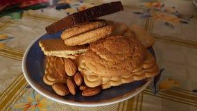 Una zolla dei biscotti Fotografia Stock