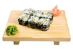 Una zolla dei sushi Immagine Stock Libera da Diritti