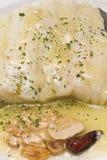 Una zolla di merluzzo. fotografie stock libere da diritti