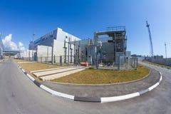 Una zona industriale immagini stock libere da diritti