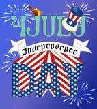 Unabhängigkeit Day vektor abbildung