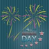 Unabhängigkeit Day Stockbild